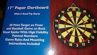 17 in paper dart board Fort Worth, 76133