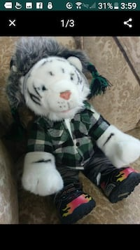 Build a bear white tiger Easter present San Dimas, 91773