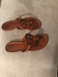 pair of brown leather sandals Gaithersburg, 20878