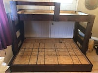 Custom Wooden Bunk Bed Frame New Orleans, 70124