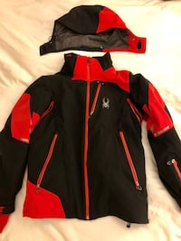 Men's Spyder Ski/Snowboarding Insulated Jacket -Size M 30 km