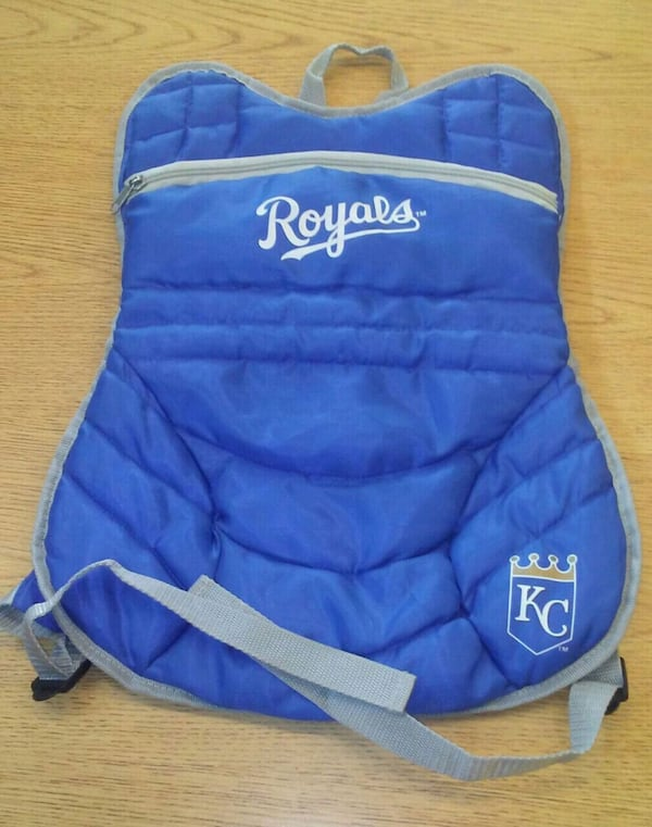 SGA KC Royals Catcher Chest Protector Backpack 0