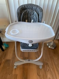baby's white and gray Chicco high chair Annandale, 22003
