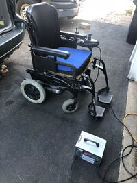 Power driving chair with commercial charger Anoka, 55303