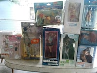 10 anime character action figures alot rare Tampa, 33612