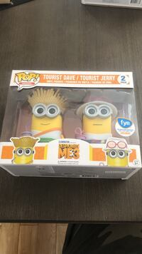 Exclusive Funko Pops despicable me 3