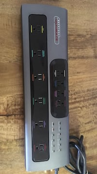 gray Nexxtech Ultimate power strip Broadlands, 20148