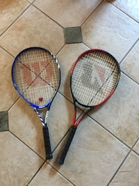 Junior Wilson tennis racket and  Bridgestone adult tennis racket Kelowna, V1Y 9W7