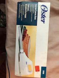 White oster electric carving knife