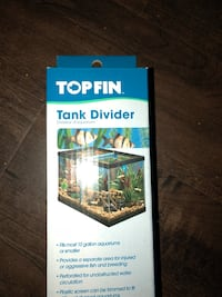 Fish tank divider for tanks 10 gallon or smaller. Can be cut  Dartmouth, B2W 1B7