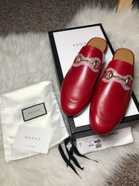 Authentic Brand New gucci Princetown mules slippers 35.5 5.5 5 Edmonton, T6E 1Y3