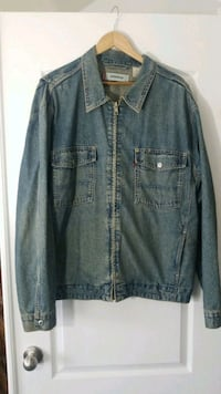 blue denim zipper jacket 45 mi
