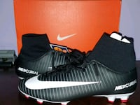 pair of black Nike cleats Annandale, 22003