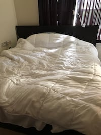 King size bed with frame Sterling, 20165