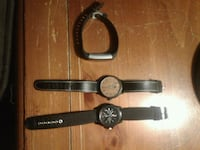 3 watches, 2 high value luxury used, 1 smartwatch Norfolk, 23518