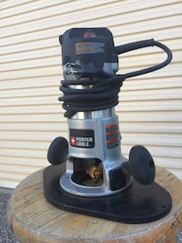 Porter-cable 21/4 hp fixed base router Penn Valley, 95946