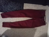red and white Nike pants Regina