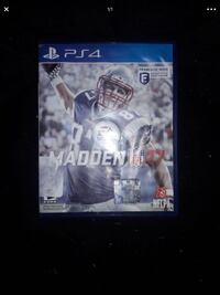 Madden 2017 Ps4 excellent shape Tampa, 33612