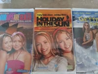 3 Mary And Kate Movies. VHS Warren