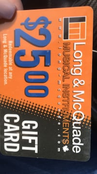 long&mcquade gift card Mississauga, L5T 2G6