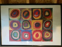 Framed Kandinsky print  Jonesborough, 37659