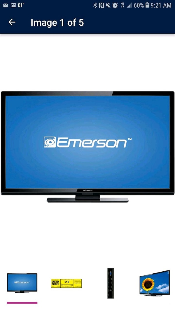50 inch emerson led tv