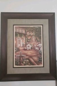 brown wooden framed painting of house Oxon Hill, 20745