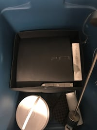 PS3 with 2 controllers and box of games Vaughan, L4L