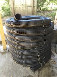 Corrugated drain pipe & grated end caps Ankeny