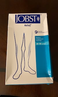 Thigh High medical compression stockings, large Stafford, 22556