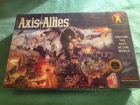 Axis and Allies Control the Fate of the World board game. sealed.
