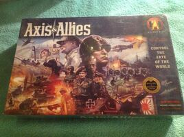 Axis and Allies Control the Fate of the World board game. sealed