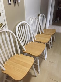 four brown wooden windsor chairs Edmonton, T6J 0R5