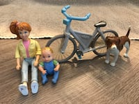 $5 Loving Family Dolls Animal Bike Fall River, 02720