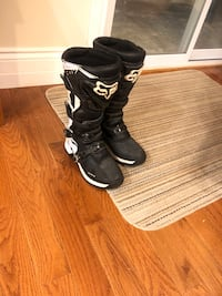 Fox comp 5 Moto cross boots