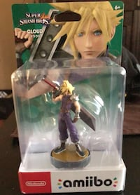 Nintendo amiibo Smash bros Cloud amiibo (brand new) Cambridge, N1R 1C9