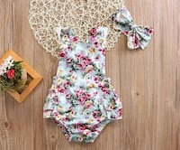 Floral romper. New North Las Vegas, 89032