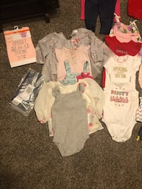 6-9 month baby girl clothes  West Valley City, 84120