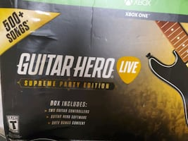 Guitar Hero Live *Supreme Party Edition* for Xbox One