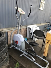 White and black elliptical trainer Yuba City, 95993