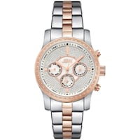 NEW JBW J6327B Vixen 42 Genuine Diamond 2-Tone Rose Gold Watch Toronto
