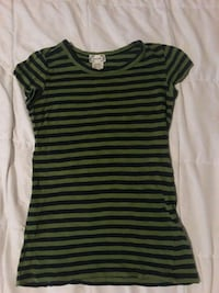 Short sleeve green and navy blue stripes Stephens City, 22655