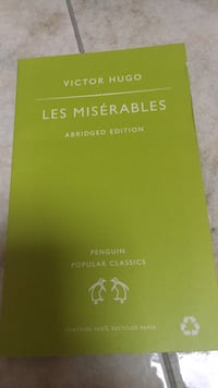 Les miserables by Victor Hugo- English edition  Rovello Porro, 22070