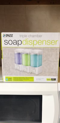 Triple Soap Dispenser