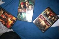 DVD Trio Bundle for Pirates and the Caribbean. London, N6H 1M9