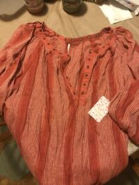 Free People Boho top new with tag Lowell, 01850