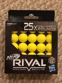 Official Nerf Rival Ammo 25 Rounds Woodbridge, 22192