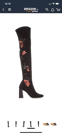 International concept over the knee boots