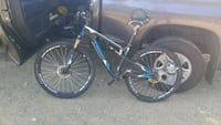 blue and black hardtail mountain bike Los Angeles, 91364