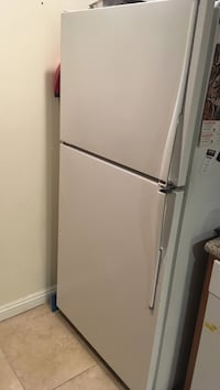 """white refrigerator 31""""wide-31"""" deep ( back to from handle ) 66"""" hight"""